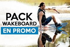 Packs wakeboard en promo