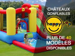 châteaux gonflables happy hop plus de 40 modèles