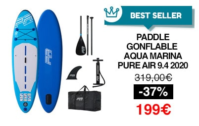 paddle gonflable aqua marina pure air 2020