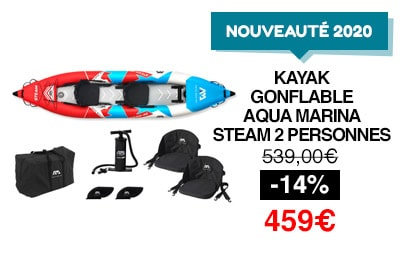 kayak gonflable aqua marina steam 2020