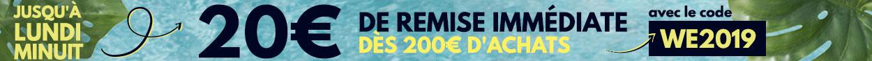 20€ dés 200€ d