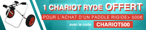 1 chariot universel RYDE offert pour l