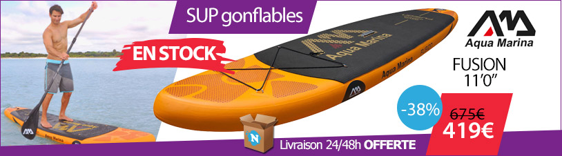 sup gonflable aquamarina fusion 11