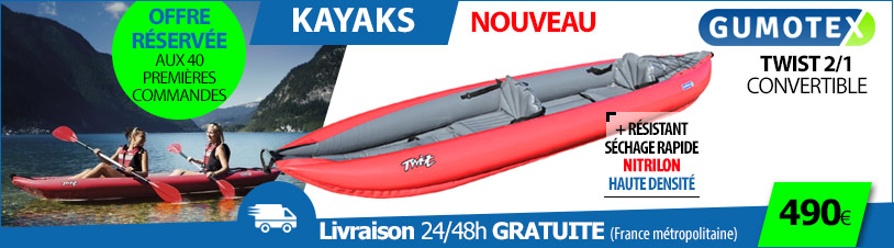 kayak gumotex twist 2 convertible