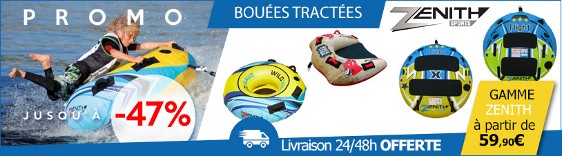 bouees tractees zenith sports