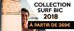 arrivage collection surf bic 2018