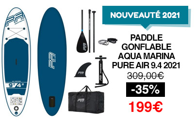 sup gonflable aquamarina pure air