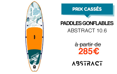Prix cassés paddle abstract