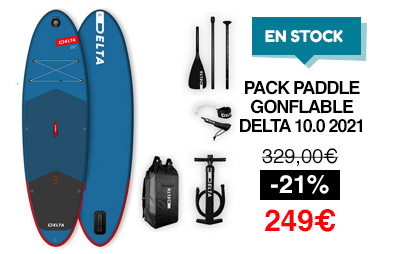 pack sup gonflable delta