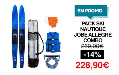 pack ski nautique jobe allegre combo