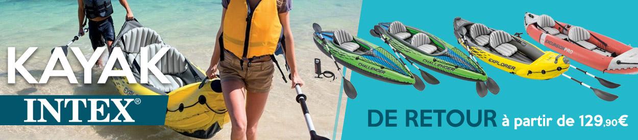 kayak intex à partir de 129€