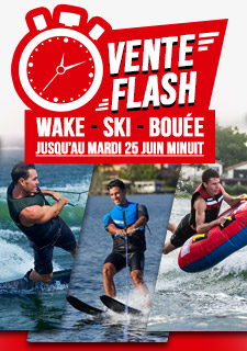 vente flash wake ski nautique bouee tractee