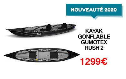 Nouveauté : kayak gumotex rush 2