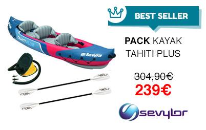 pack kayak tahiti plus
