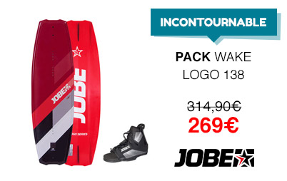 pack wakeboard jobe logo chausses maze