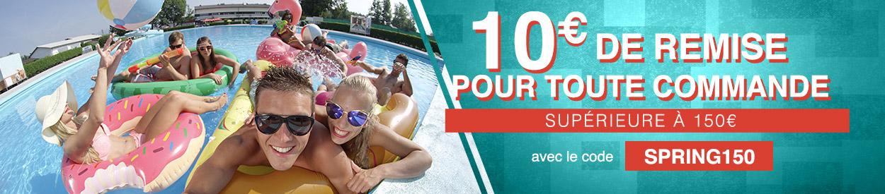 10€ remboursés en bon d'achat pour l'achat d'un SUP gonflable