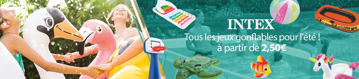 jeux de piscine intex à partir de 2,50 euros