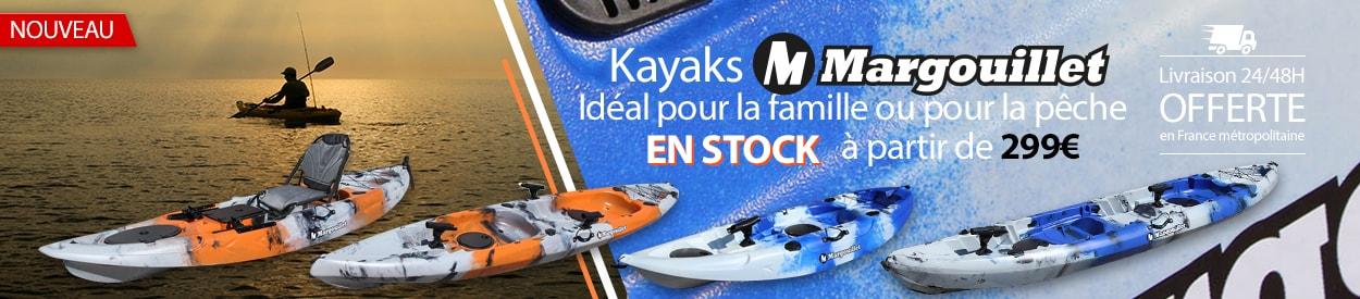 Kayaks MARGOUILLET gamme