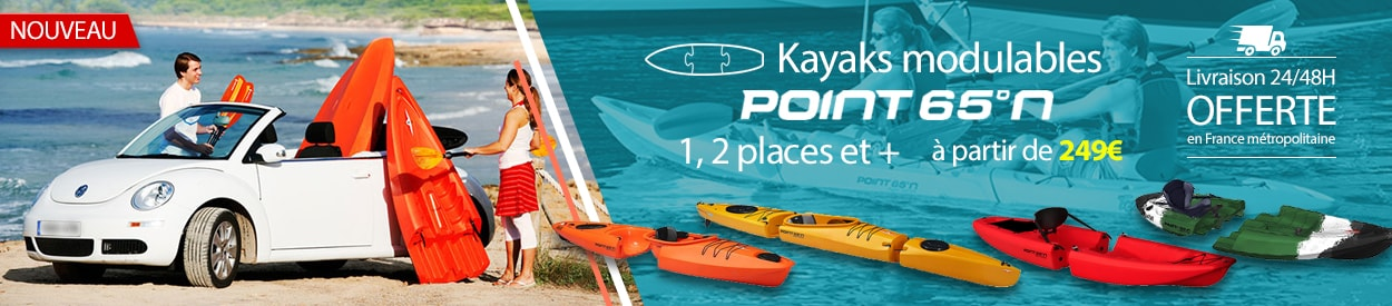 kayaks modulables point 65 N