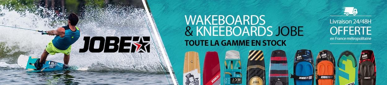 Wakeboards et kneeboards jobe