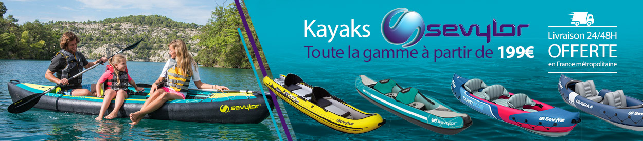 kayaks gonflables sevylor