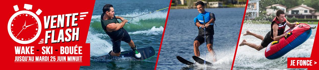 Vente flash wakeboard ski nautique bouee tractee