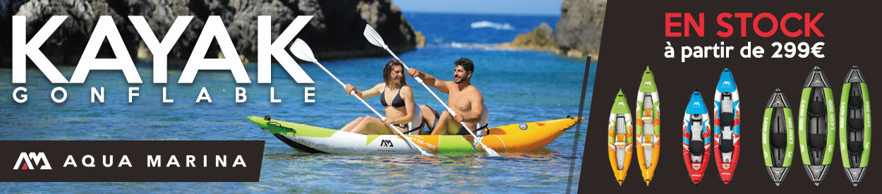 kayak gonflable aqua marina en stock