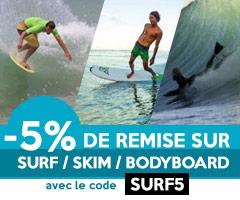 surf skimboard skim 5% de remise