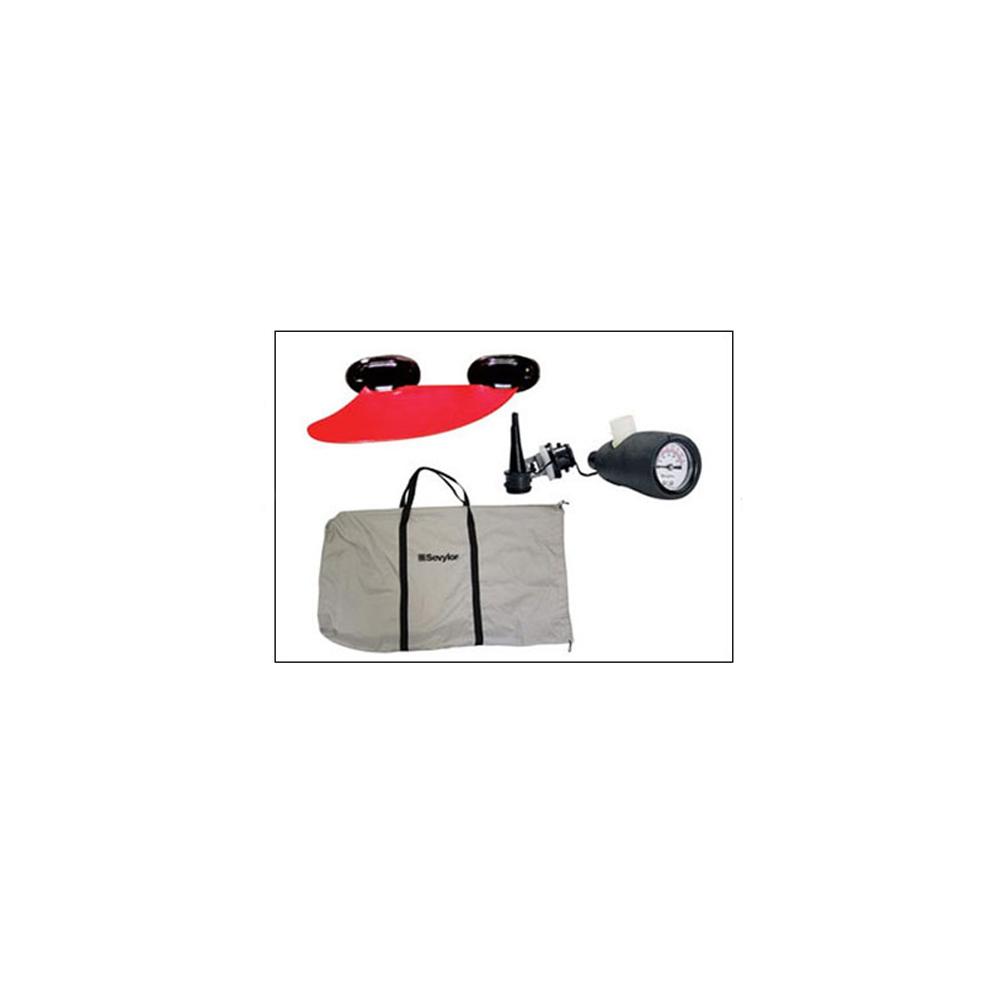 Housse de transport / Manomètre / Un Aileron amovible / Manuel d'utilisation