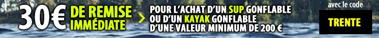 Kayak Gonflable 1 place. Faire du kayak en solo | Nautigames.com
