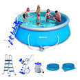 PISCINE AUTOPORTANTE RONDE BESTWAY 366 x 91 cm + KIT DINSTALLATION