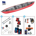 KAYAK GUMOTEX SOLAR 410C 3 places Rouge
