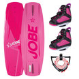 WAKEBOARD JOBE VANITY PINK 136 SERIES PACKAGE