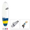 SURF BIC PAINT 6.6 SHORTBOARD PACKAGE