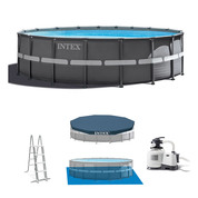 PISCINE TUBULAIRE RONDE INTEX ULTRA XTR FRAME 5,49 X 1,32 M