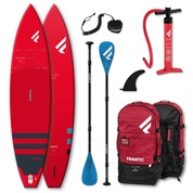 PADDLE GONFLABLE FANATIC RAY AIR 12.6 x 32 PURE ROUGE 2021