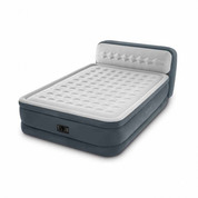 MATELAS GONFLABLE INTEX ULTRA PLUSH TETE DE LIT 2 PLACES