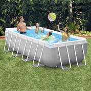 PISCINE TUBULAIRE RECTANGULAIRE INTEX 3 x 1,75 x 0,8 m