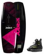WAKEBOARD JOBE VANITY WOMEN 136 & CHAUSSES UNIT SET 2019