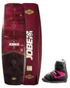 JOBE ARMADA ROUGE WAKEBOARD 137 & HOST ROSE SET 2019