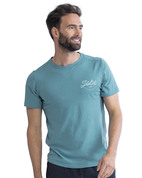 T-SHIRT JOBE CASUAL TURQUOISE
