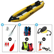 KAYAK AQUADESIGN SEA WEAVER 2 PLACES JAUNE SW2