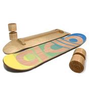 Balance Board TWOB-SPORT DECADE Bleu Jaune