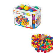 JEU DE 100 BALLES INTEX BALL TOYS 8 CM
