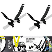 BARRE DE TOIT KAYAK V RACK AQUADESIGN
