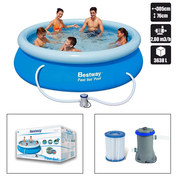 KIT PISCINE AUTOPORTANTE BESTWAY RONDE 305 x 76