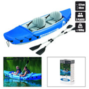 KAYAK GONFLABLE BESTWAY LITE RAPIDE + 2 PAGAIES