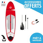 SUP BIC ACE TEC 10.6 PERFORMER RED 2017