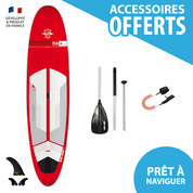 SUP BIC ACE TEC 11.6 PERFORMER RED 2018