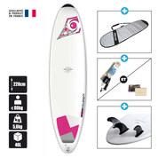SURF BIC DURA-TEC 7.3 MINI-MALIBU WAHINE